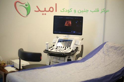 دستگاه اکو قلب جنین چهار بعدی