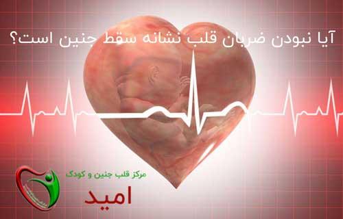 آیا نبودن ضربان قلب نشانه سقط جنین است؟